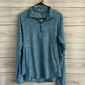 All in Motion Athletic Pullover Zip Shirt